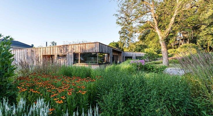 Bild des außergewöhnlichen Gartens, der den 1. Preis gewonnen hat