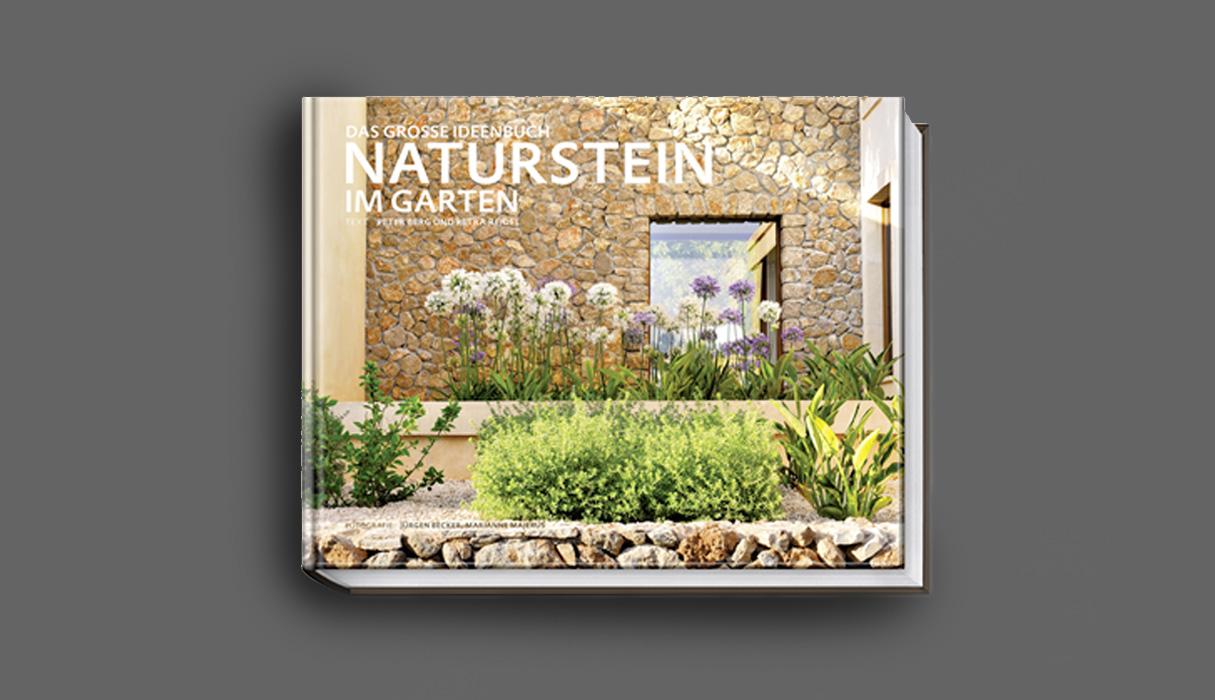 Bild vom Buch Naturstein im Garten von Peter Berg