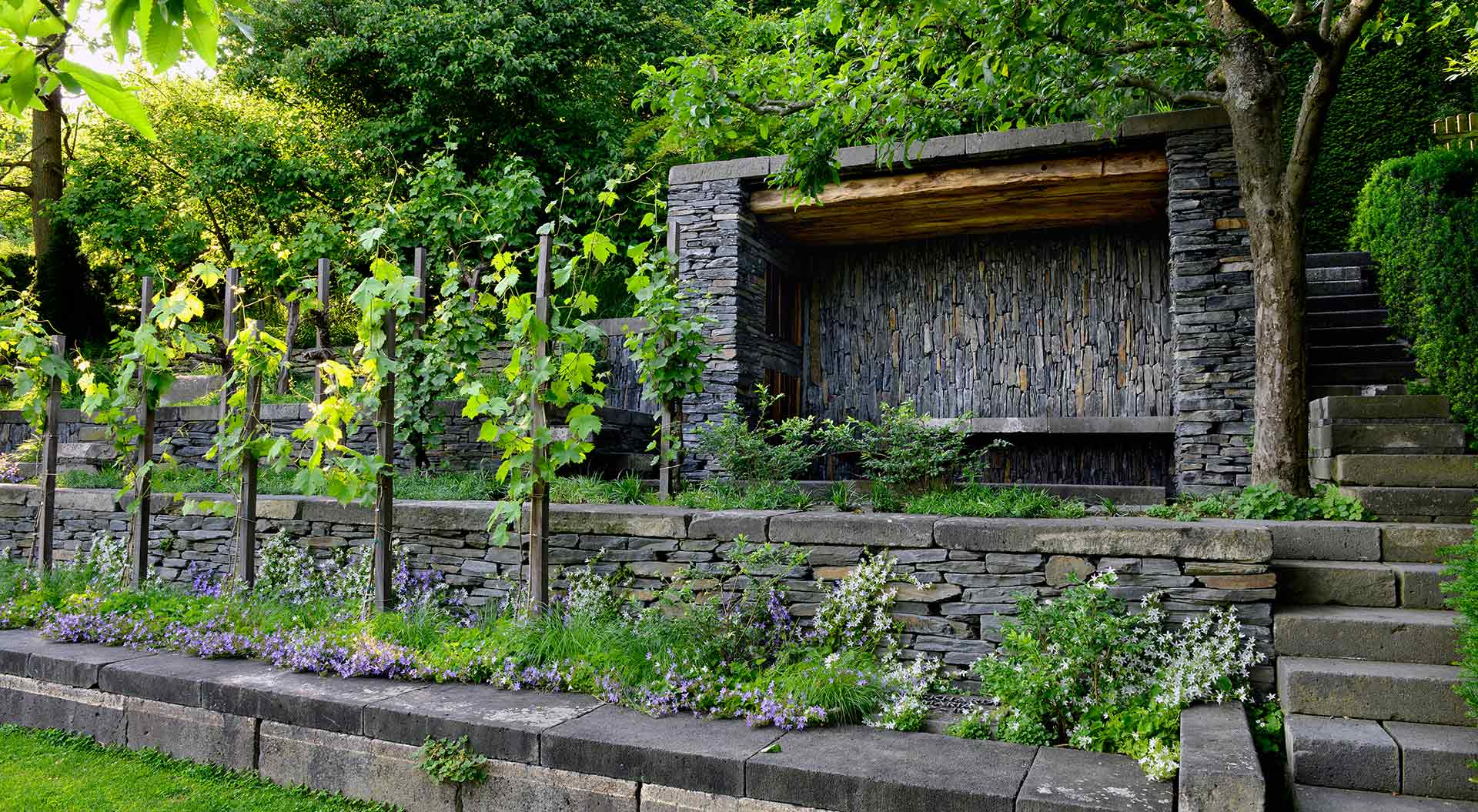 Peter berg der eigene garten das ewige hanggarten projekt - Peter berg garten ...