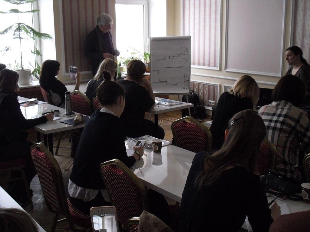Seminar von Peter Berg in St. Petersburg