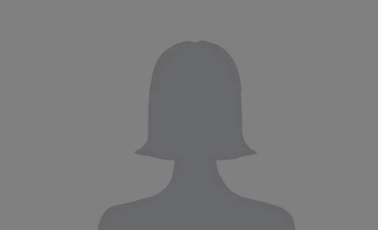 Silhouette of a female employee