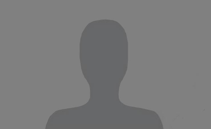 Silhouette eines männlichen Mitarbeiters, dessen Foto fehlt