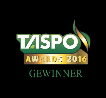 Logo of the TASPO award 2016